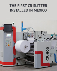 The first CR slitter installed in Mexico